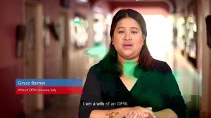 Grace Balmes, wife of overseas Filipino